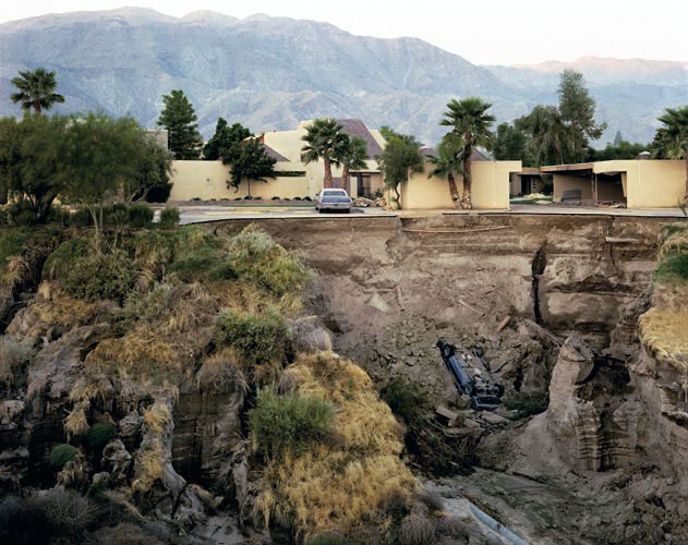 Joel Sternfeld. 'After a Flash Flood, Rancho Mirage, California' 1979