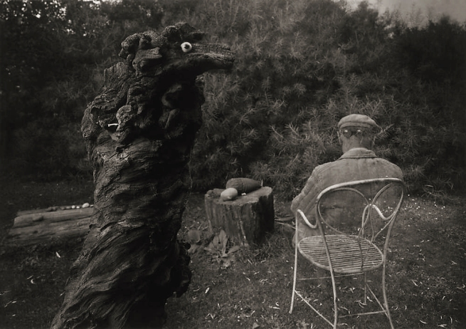 Josef Sudek. 'Remembrance of Mr. Magician (the garden of architect Rothmayer)' 1959