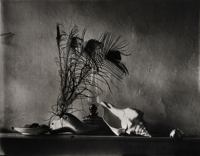 Josef Sudek. 'Still-life after Caravaggio, Variation No 2 (or a night-time Variation)' 1956