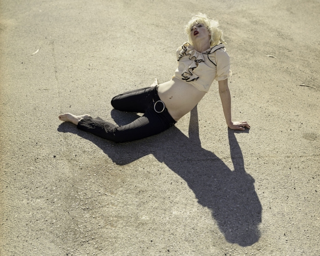 Katy Grannan. 'Nicole, Crissy Field Parking Lot (I)' 2006