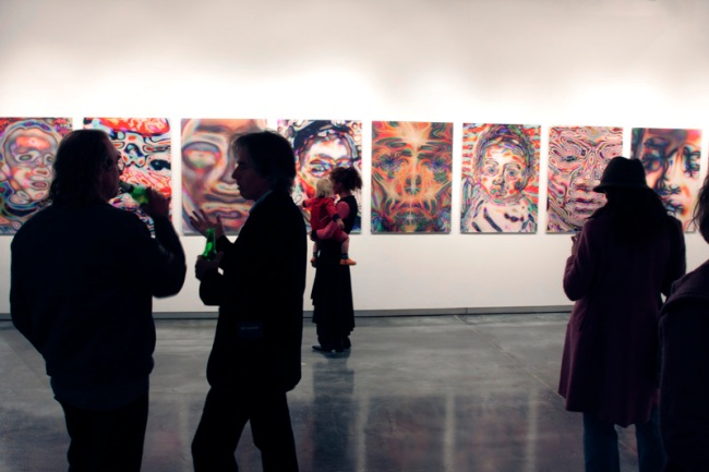 Nicola Loder opening at Helen Gory Gallery, Melbourne