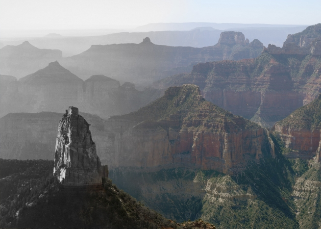 Mark Klett and Byron Wolfe. 'Point Imperial on the Grand Canyon' 2008