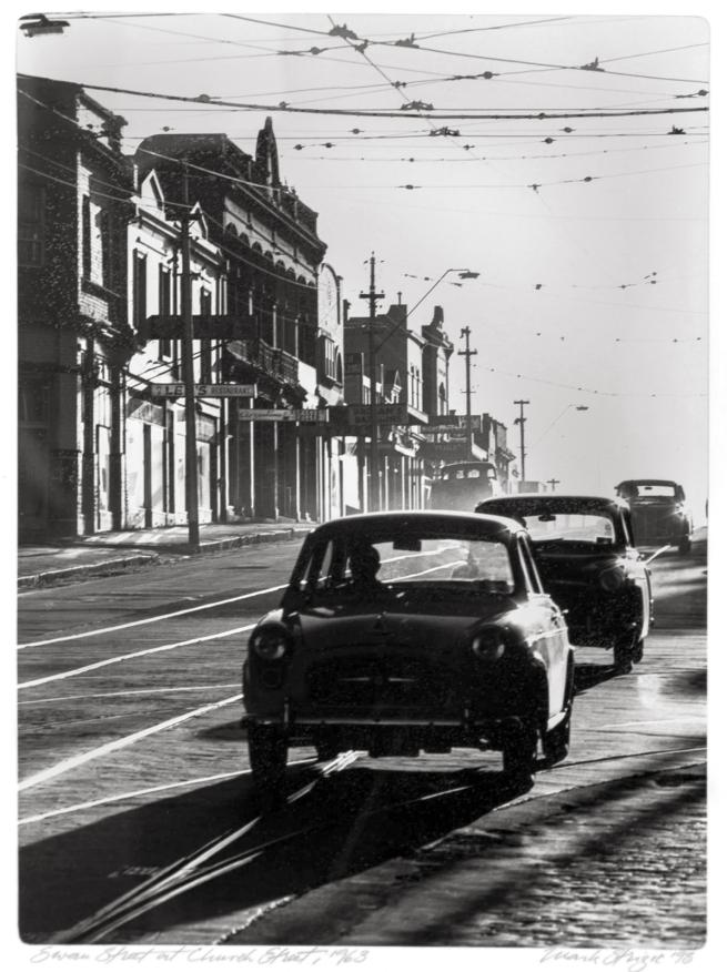 Mark Strizic(Australian, 1908-2012) 'Swan Street at Church Street' 1963