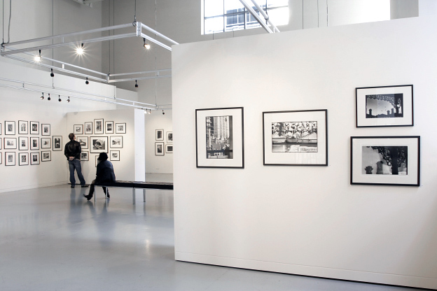 Installation view of the exhibition 'Mark Strizic: Melbourne - A City in Transition' exhibition at Gallery 101, Melbourne