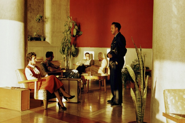 Paul Outerbridge. 'Hotel Lobby, Mazatlán, Mexico' c. 1950