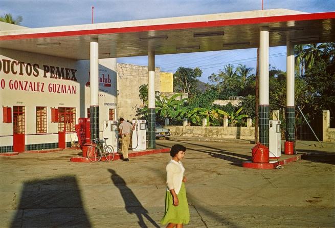 Paul Outerbridge. 'Gas Station, Mazatlán, Mexico' c. 1950