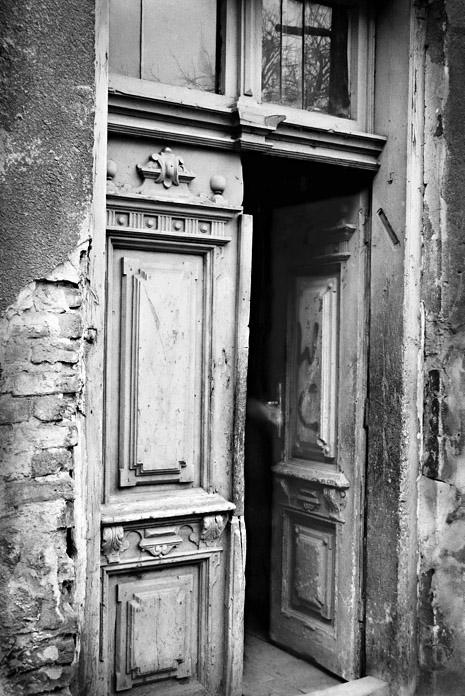 Jeff Gusky. 'Former Jewish Home in Use as a Public Toilet' Dzialoszyce, Poland 1996