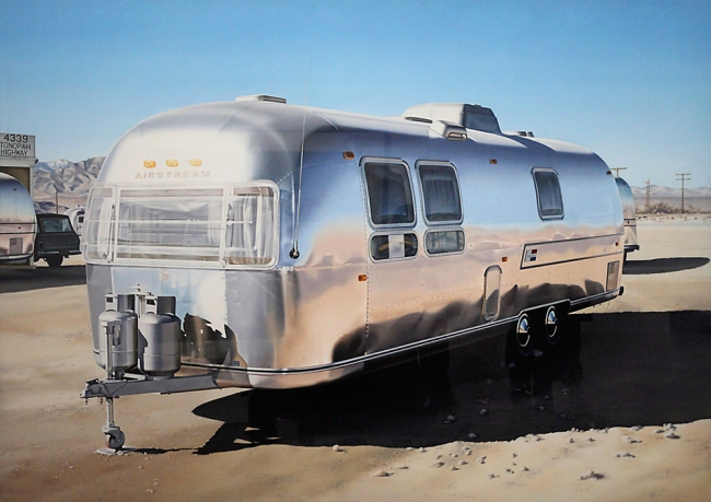Ralph Goings. 'Airstream' 1970