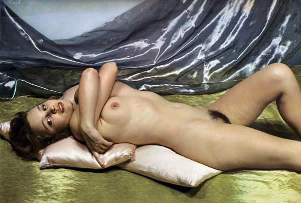 Paul Outerbridge. 'Reclining Nude' c.1937