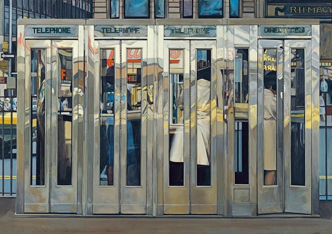 Richard Estes. 'Telephone Booths' 1967