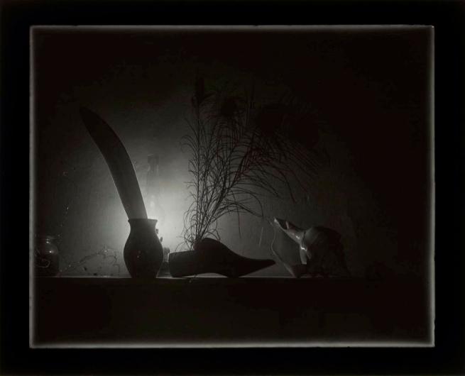 Josef Sudek. 'Stille (Still Life According to Caravaggio)' 1956
