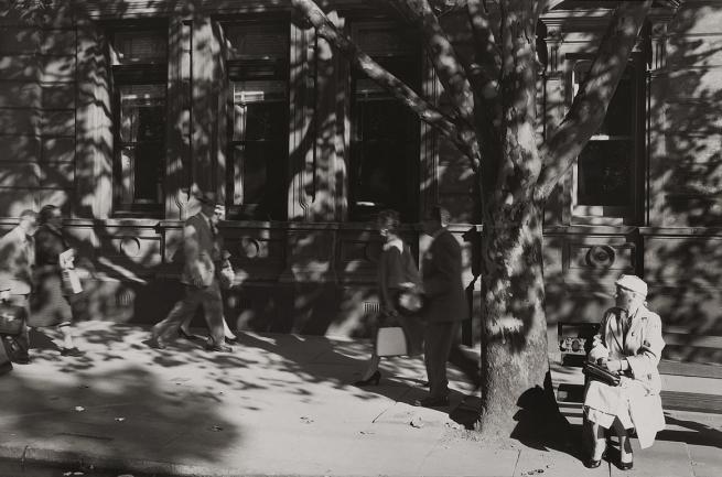 Mark Strizic(Australian, 1908-2012) 'Collins Street at Russell Street' 1957, printed 1997