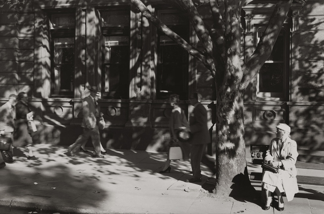 Mark Strizic (Australian, 1908-2012) 'Collins Street at Russell Street' 1957, printed 1997