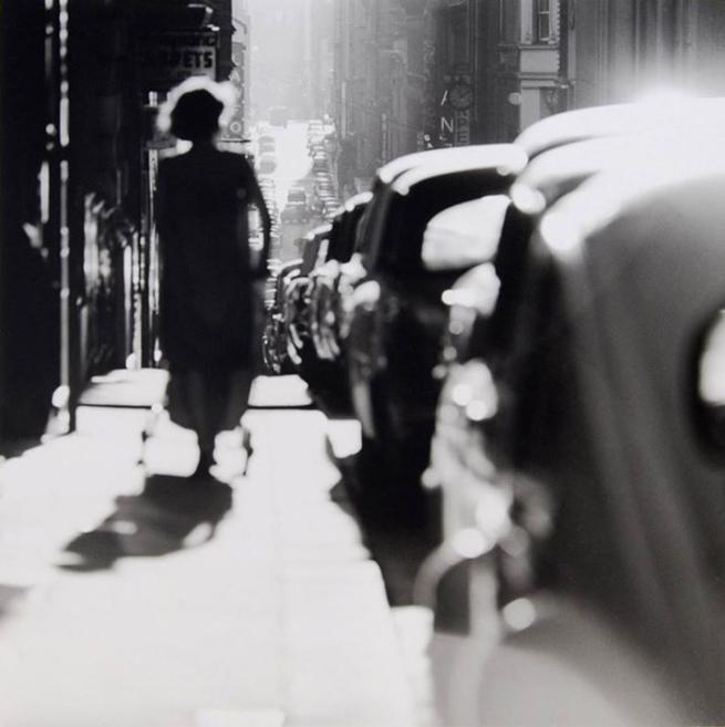 Mark Strizic(Australian, 1908-2012) 'Flinders Lane' 1967