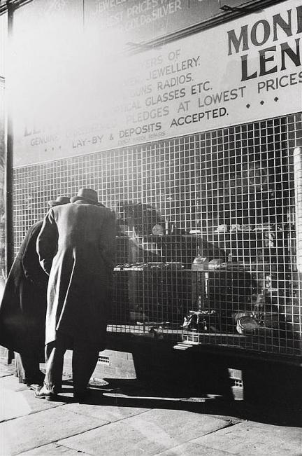 Mark Strizic(Australian, 1908-2012) 'Russell Street Pawn Shop' 1958