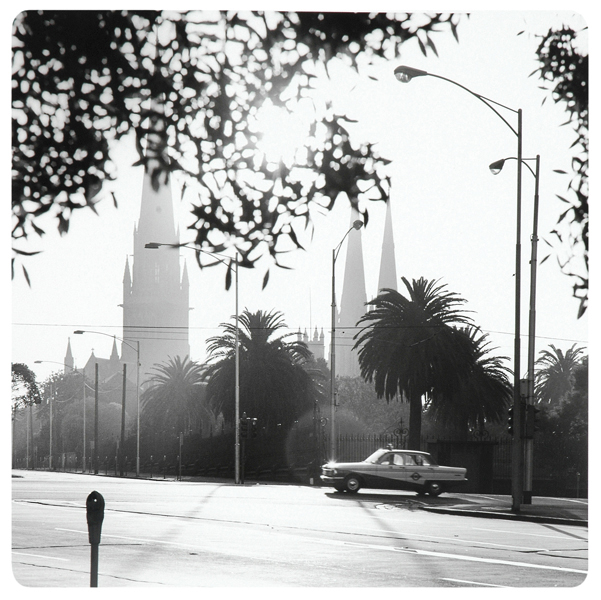 Mark Strizic(Australian, 1908-2012) 'St. Patrick's Cathedral' January 1967