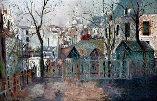 Maurice Utrillo. 'Renoir's Garden' 1909-10