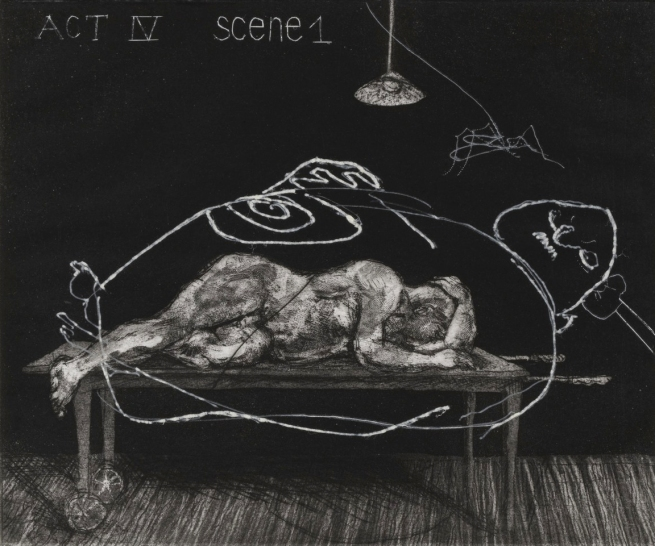 William Kentridge. 'Act IV Scene I from Ubu Tells the Truth' 1996-97