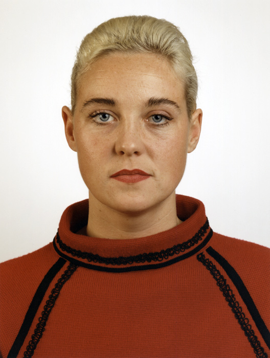 Thomas Ruff. 'Portrait (S. Weirauch)' 1988