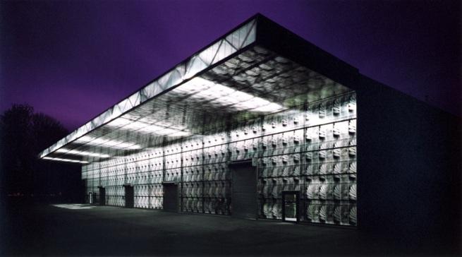 Thomas Ruff. 'Herzog & de Meuron, Ricola Mulhouse' 1994