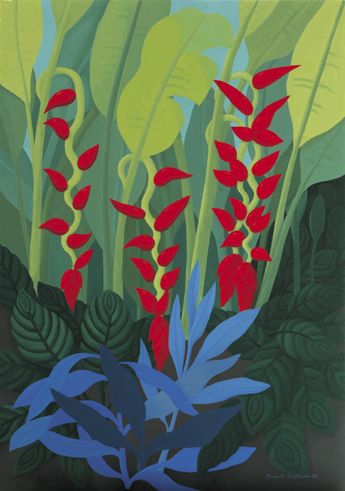 Anne Marie Graham. 'Heliconia No. 2' 2008
