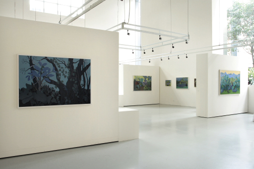 Anne Marie Graham 'Exotic Queensland: Recent Painting' installation view at Gallery 101, Melbourne