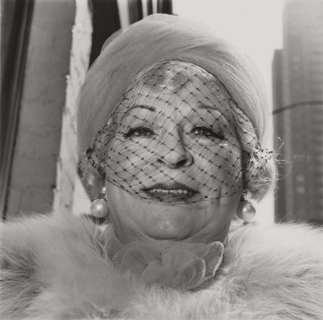Diane Arbus. 'Woman with Veil on Fifth Avenue, N.Y.C' 1968