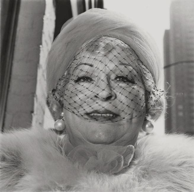 Diane Arbus. 'Woman with Veil on Fifth Avenue, N.Y.C' 1968