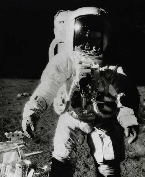 Charles Conrad. 'Astronaut Bean, Apollo XII, November 1969, on moon' 1969