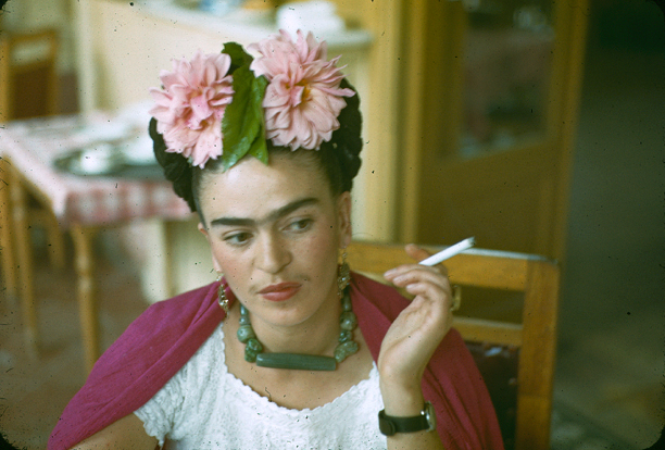 Nickolas Muray. 'Frida, Mexico, 1940' c.1940