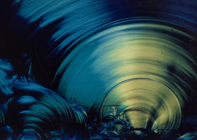 Sir George F. Pollock (born France, English 1928-2016) 'Energy bubble' 1966