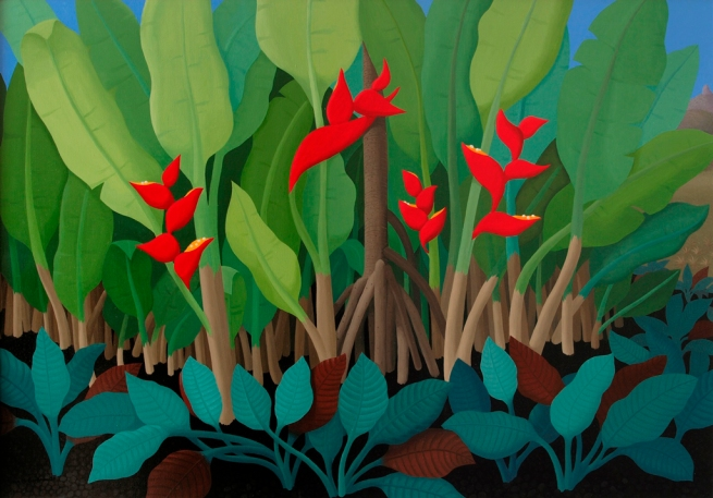 Anne Marie Graham. 'Heliconia No. 1' 2008