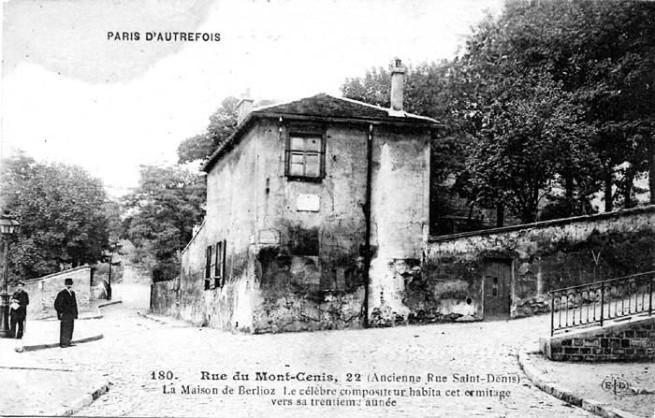Postcard of Hector Berlioz House nd