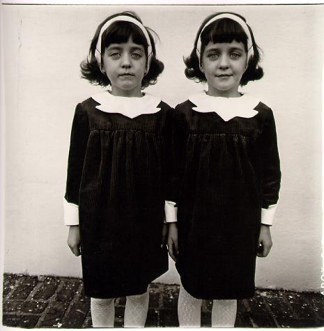 Diane Arbus. 'Identical twins, Roselle, N.J.,' 1967