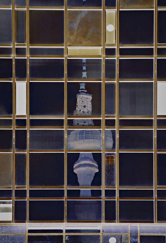 John Bodin. 'Mondrian in Berlin' 2005