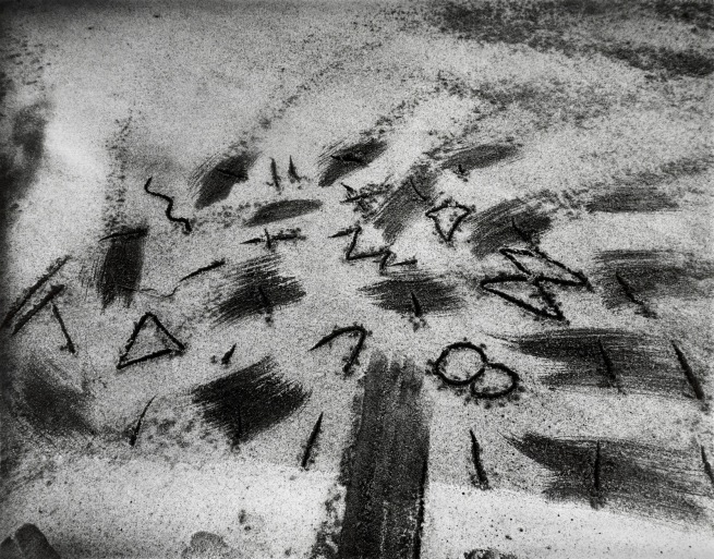 John Wood. 'Beach Drawing' 1983