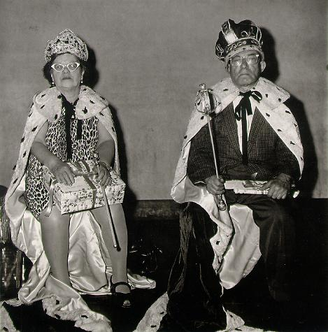 Diane Arbus. 'King and Queen of a senior citizens' dance, N.Y.C.,' 1970