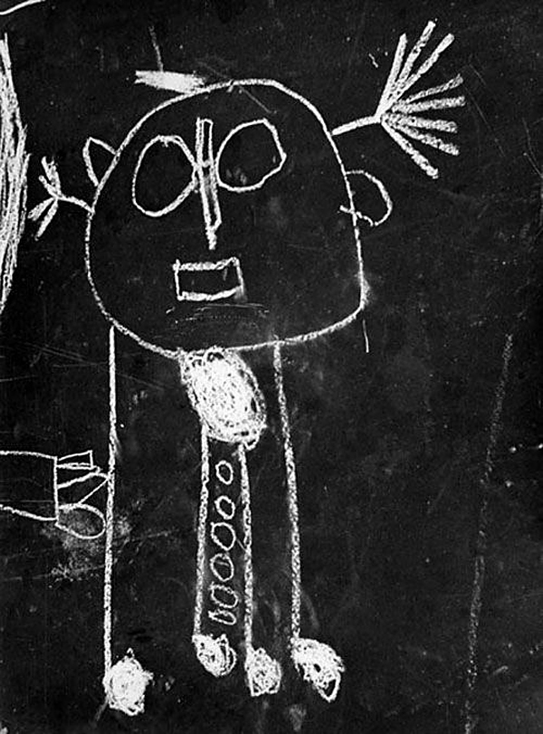 Helen Levitt(American, 1913-2009) 'Kids graffiti, New York' c. 1938