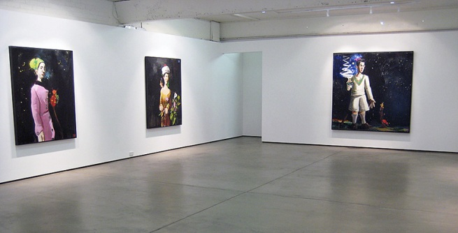 McLean Edwards. Installation of 'Songs from the Ghost Ship' at Karen Woodbury Gallery, Melbourne