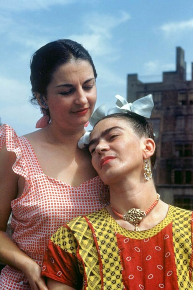 Nickolas Muray (American, 1892-1965) 'Cristina and Frida, New York' 1946