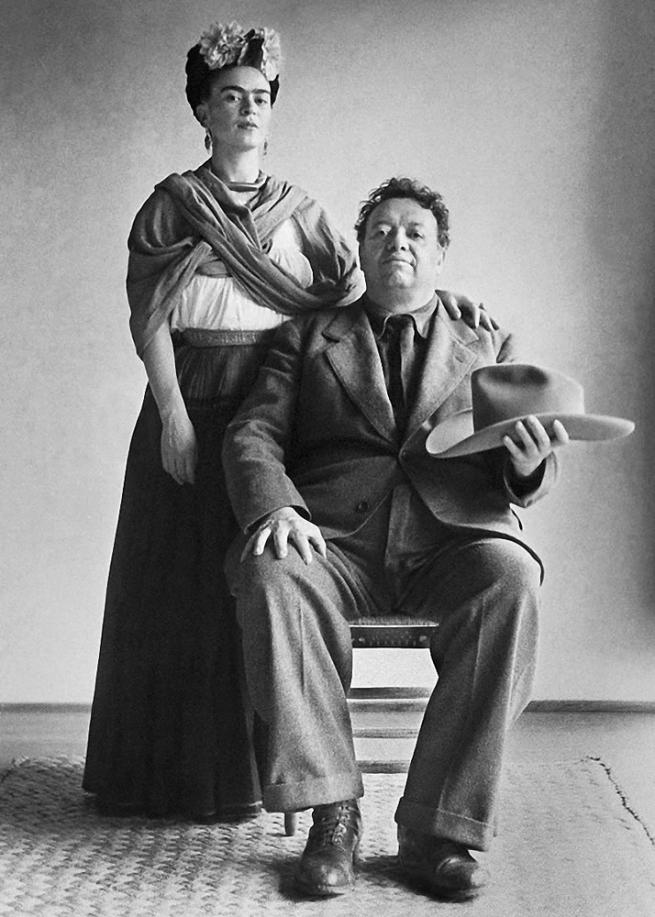 Nickolas Muray(American, 1892-1965) 'Frida and Diego, San Angel' 1941