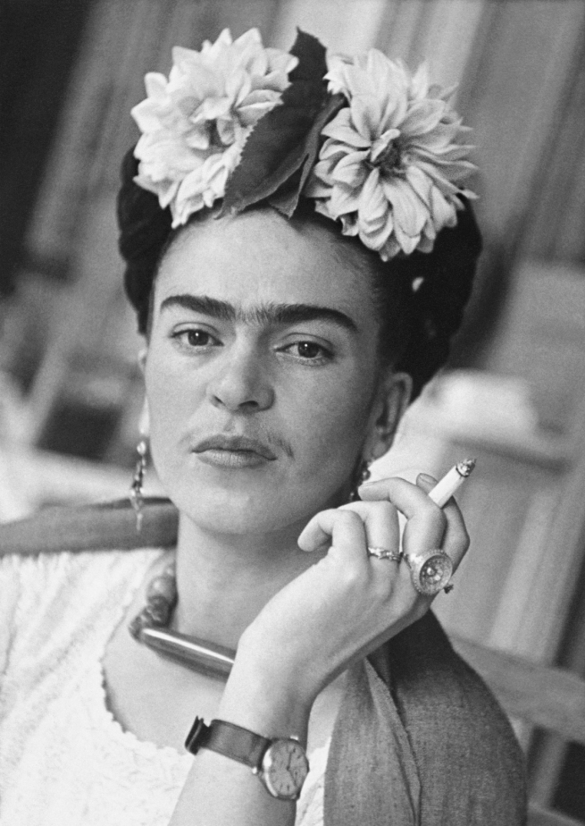 Nickolas Muray (American, 1892-1965) 'Frida in the Dining Area, Coyoacán' 1941