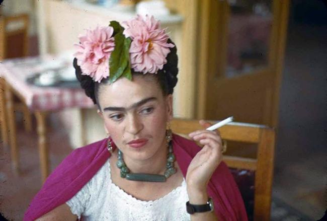 Nickolas Muray. 'Frida, Mexico, 1940' c. 1940