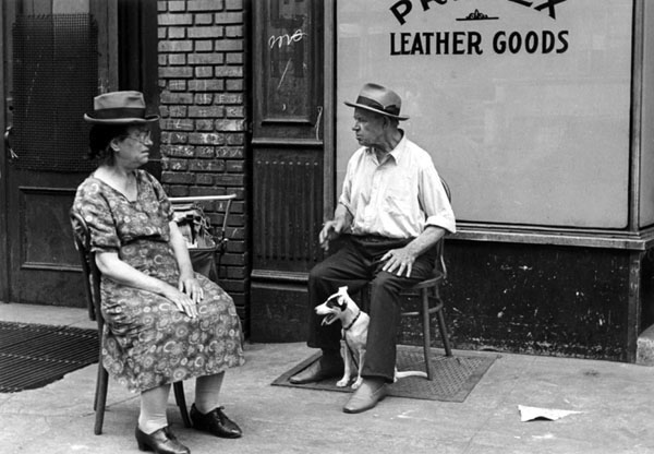 Helen Levitt. 'New York, c.1940'