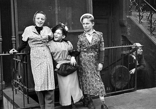 Helen Levitt. 'New York, c.1940'