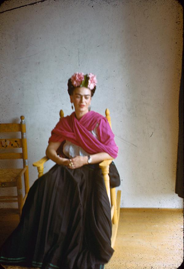 Nickolas Muray. 'Frida Kahlo' c. 1940