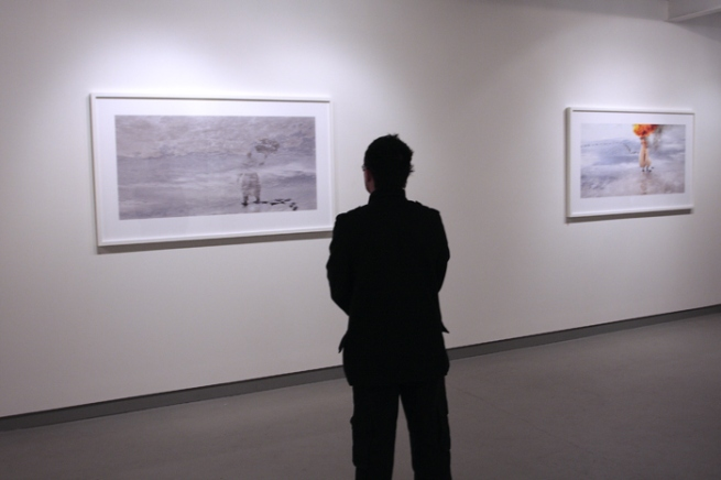 Installation view of Jill Orr exhibition 'Faith in a Faithless Land' at Jenny Port Gallery, Melbourne