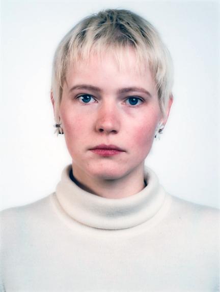 Thomas Ruff. 'Portrait (A. Kachold)' 1987