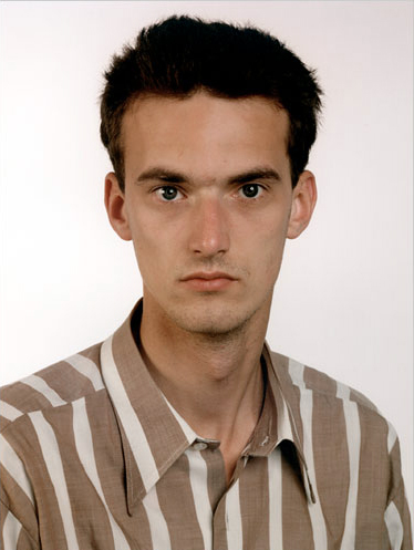 Thomas Ruff. 'Portrait (A. Siekmann)' 1987