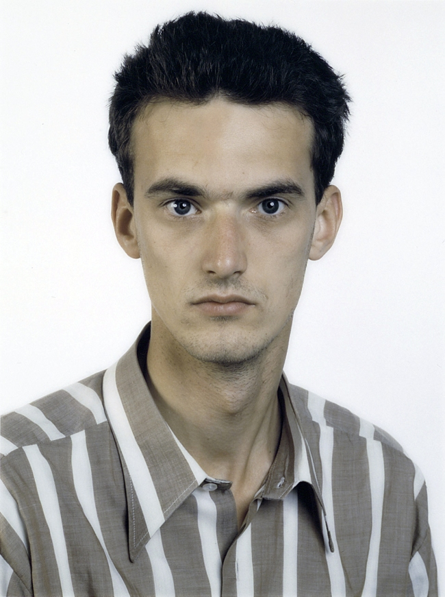 Thomas Ruff(German, b. 1958) 'Portrait (A. Siekmann)' 1987